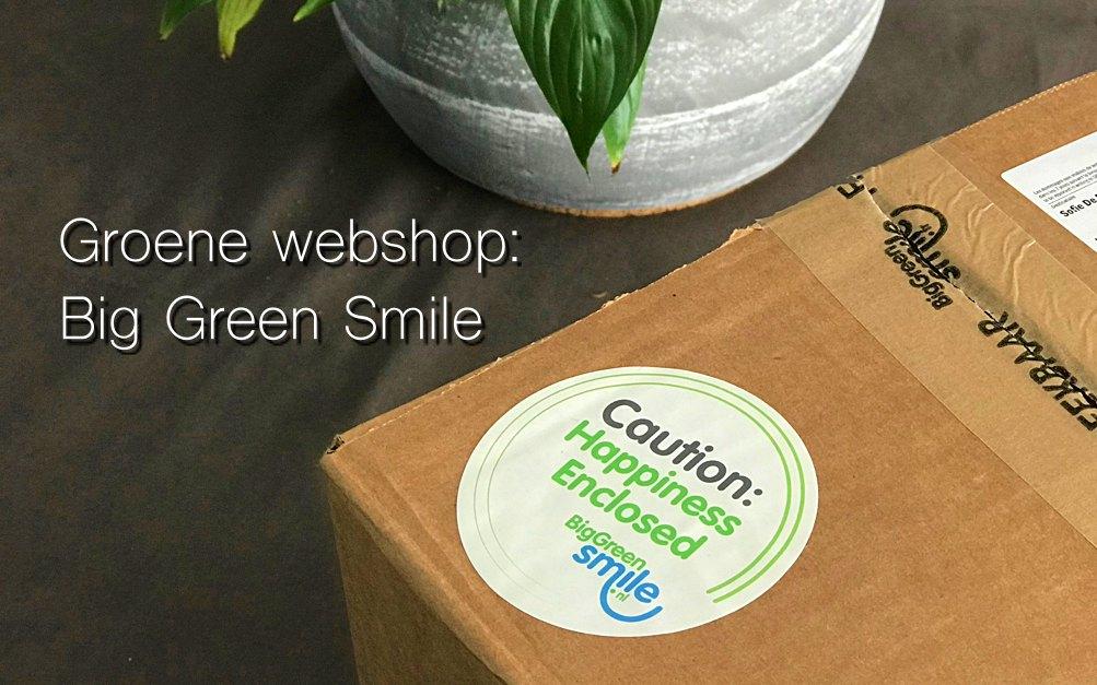 Groene webshop ervaring: Big Green Smile