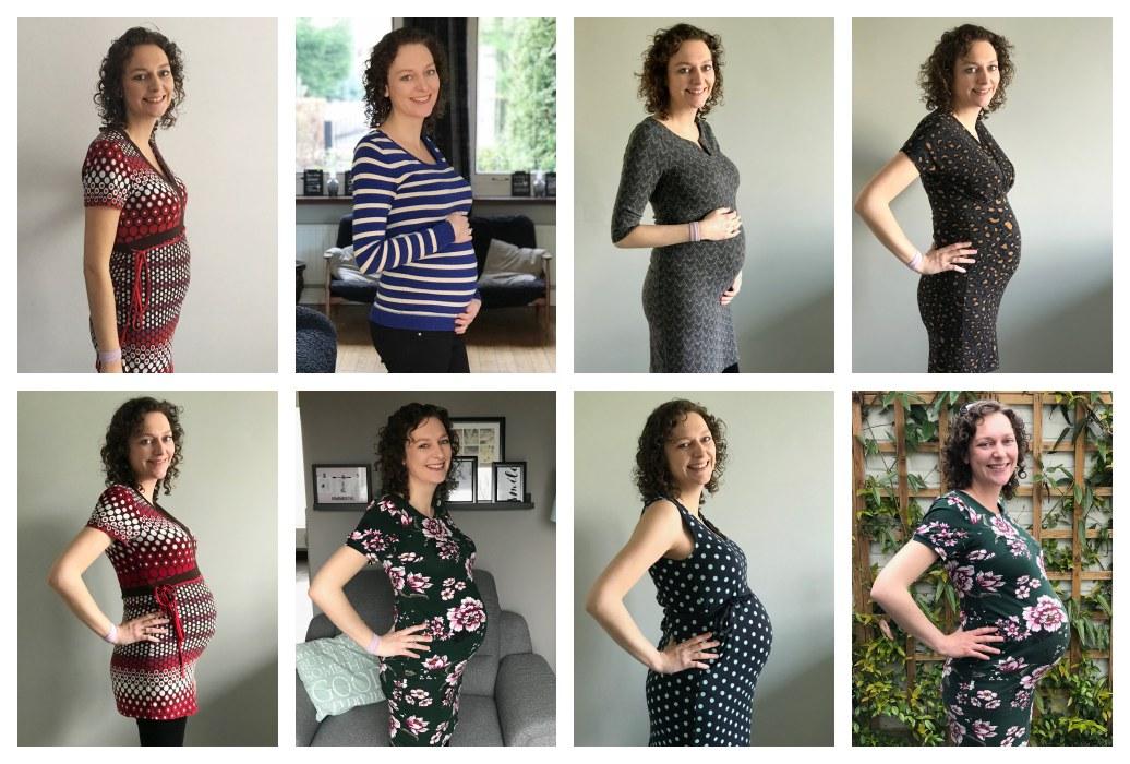 Zwangerschap Week 39 En 40 Strippen Vreugde En Verdriet Tussen