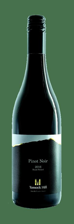 Tussock Hill premium Pinot Noir 2016