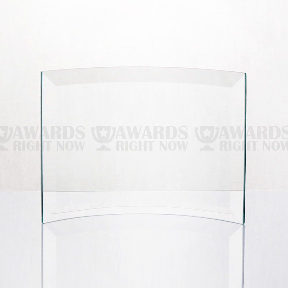 Beveled Curved Glass