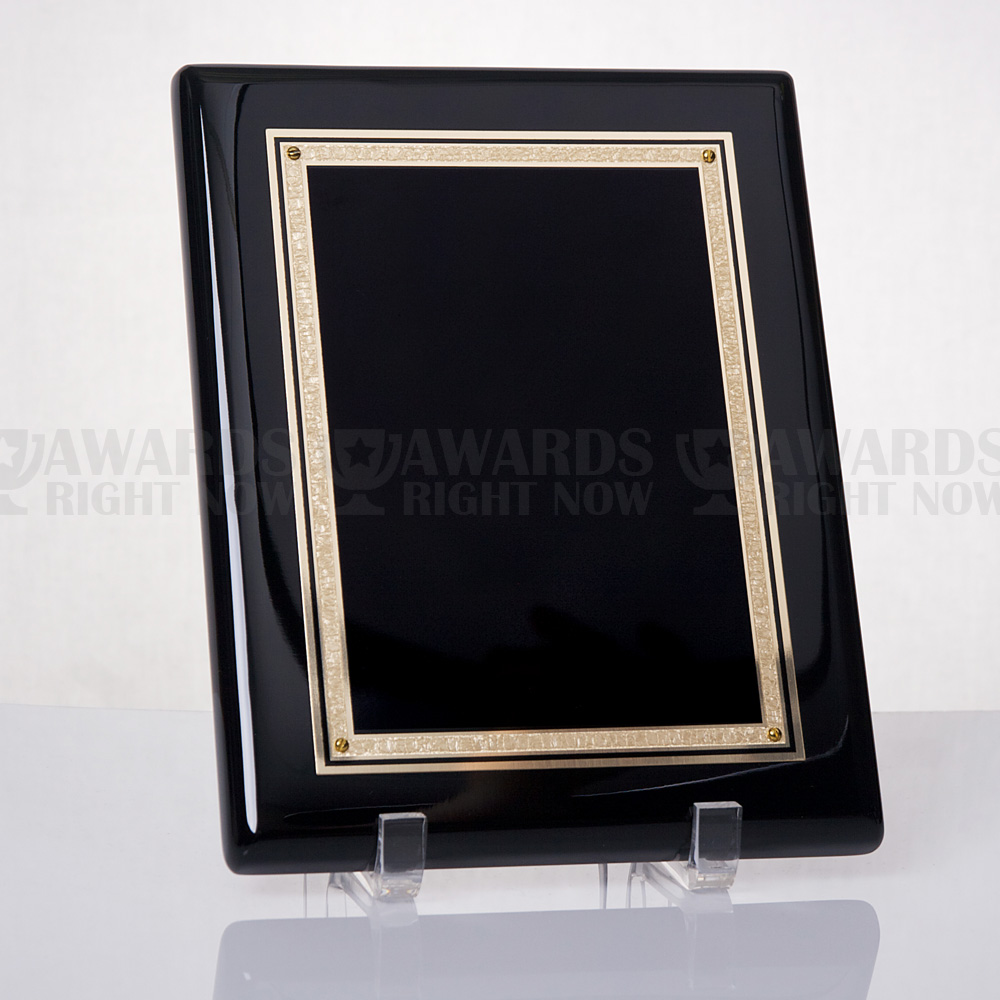 Polished Ebony Plaque