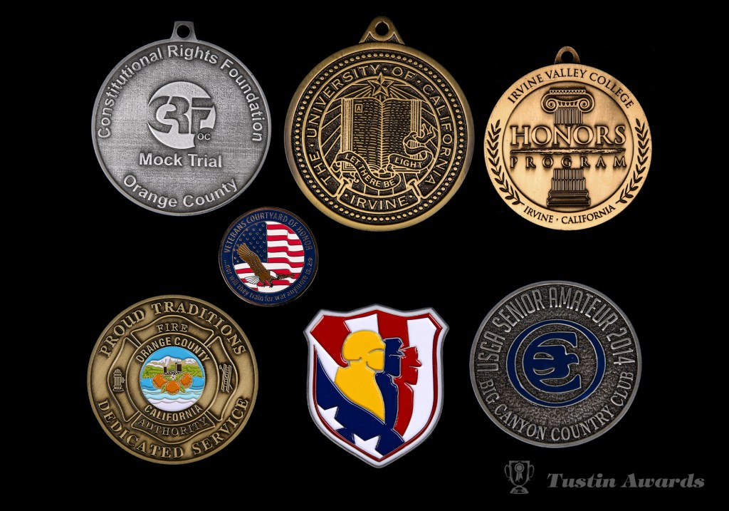 tustin awards custom medals