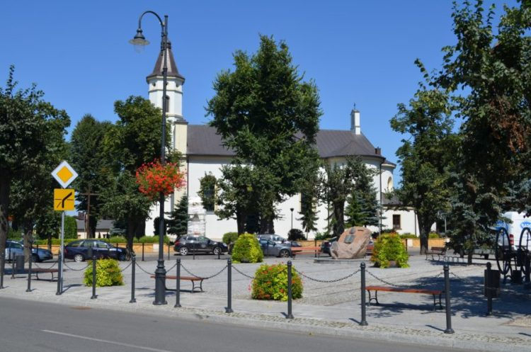2018r Stary Rynek Dzisiejszy Plac Remonta W Tuszynie 900x596