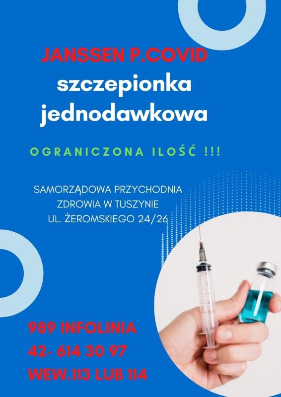JANSSEN Szczepionka Jednodawkowa 1 566x800