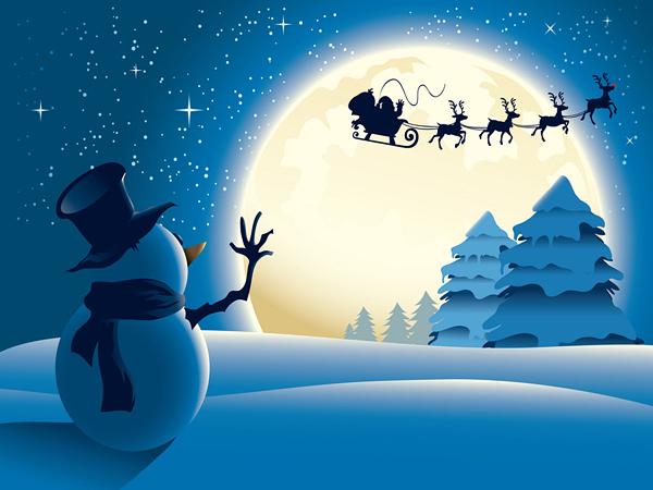 20 Όμορφες Χριστουγεννιάτικες Ταπετσαρίες