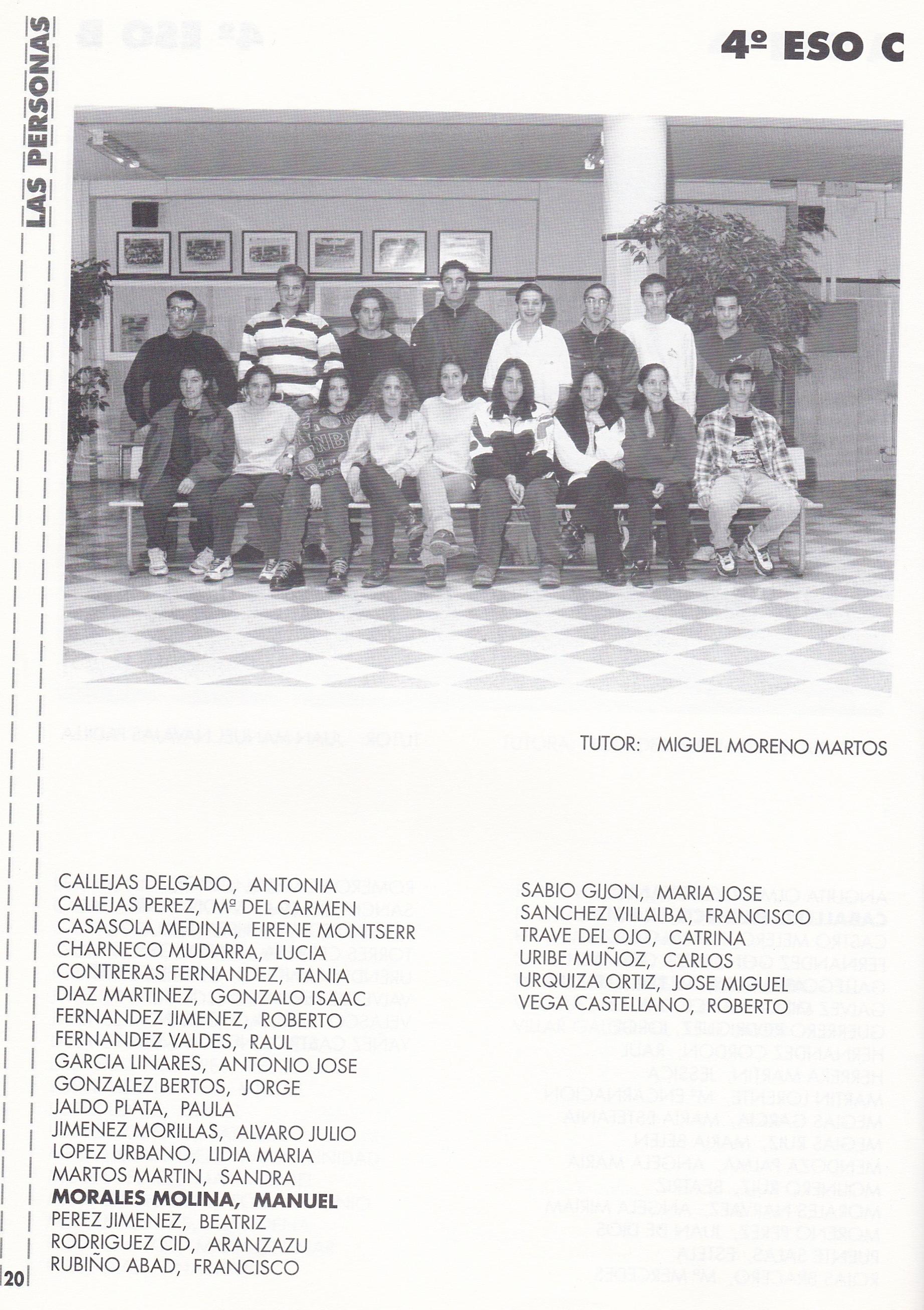 4ESO C (curso 1997-1998)