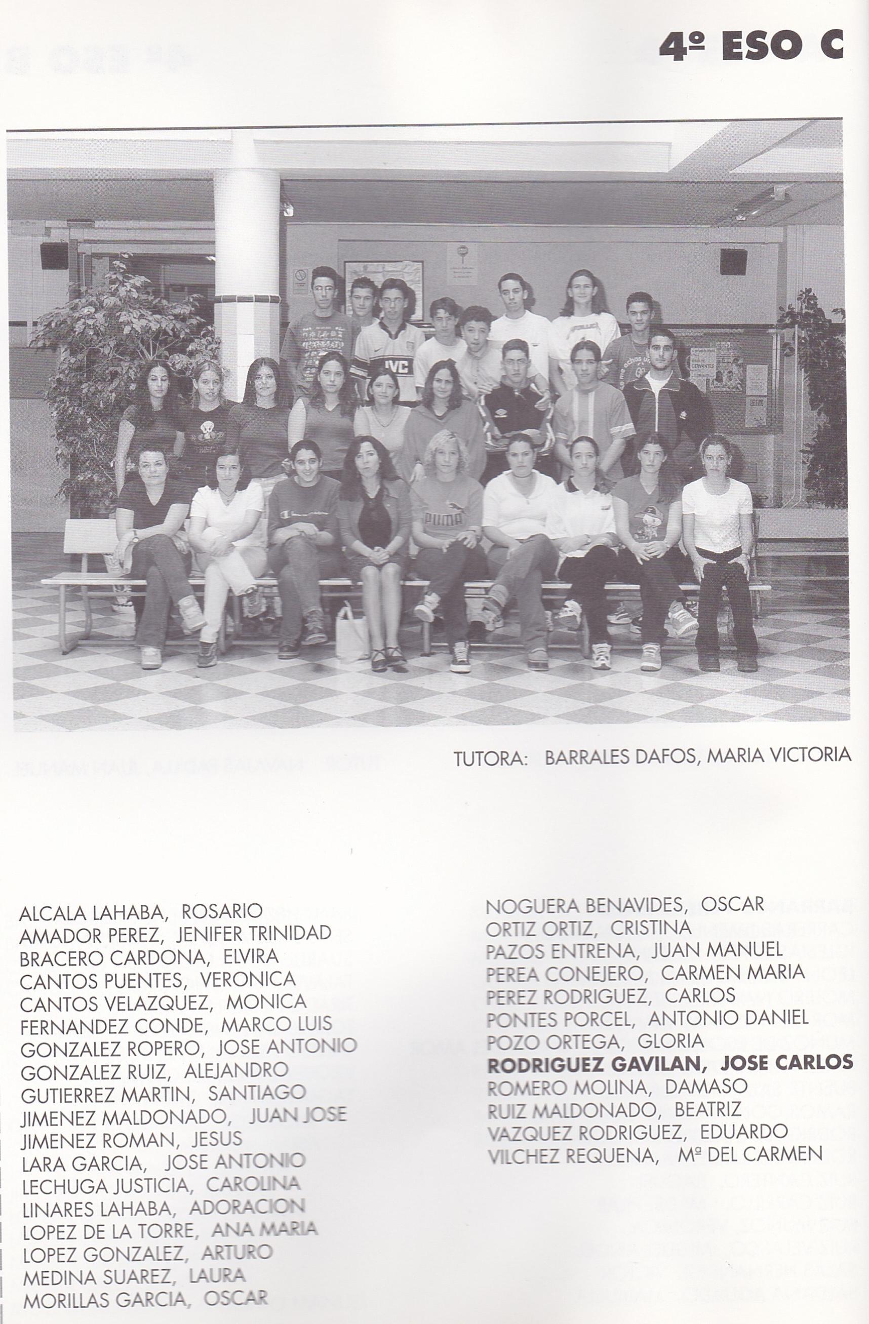 4ESO C (curso 1998-1999)