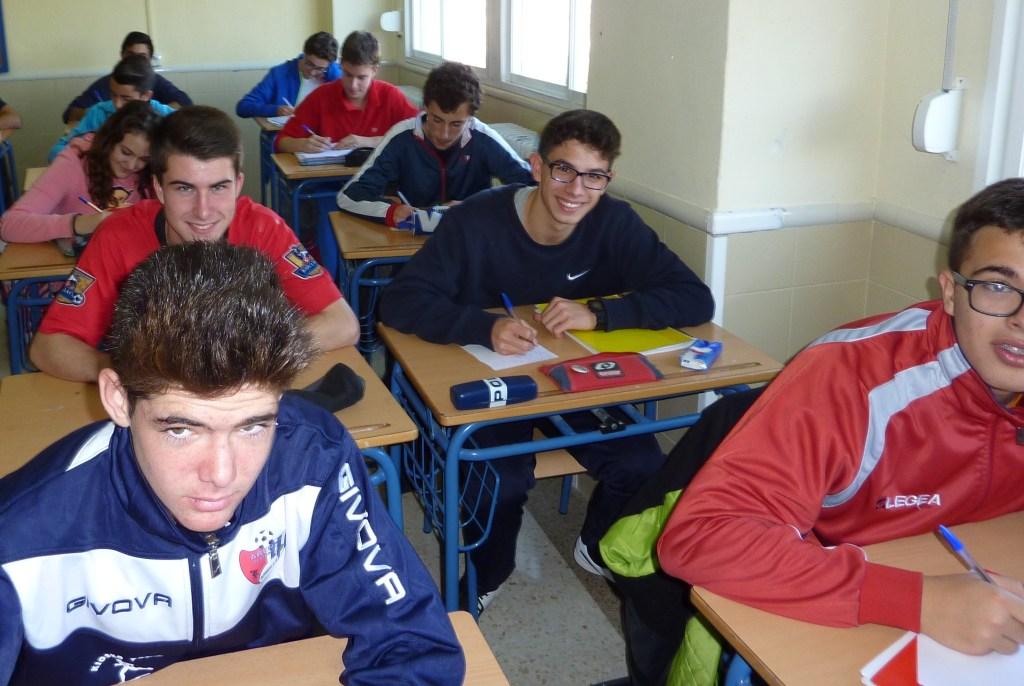 En primer plano Luís Conde y Ernesto Aranda; detrás Luís Cortés y Pablo Azpeitia forzando con toda facilidad una sonrisa.
