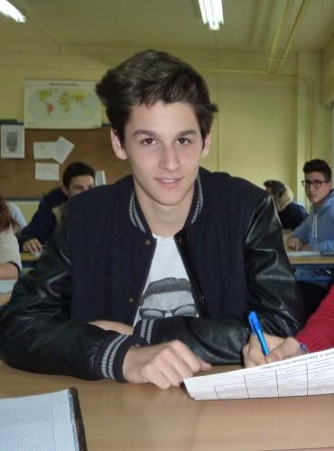 Pablo Torres, Delegado del curso.