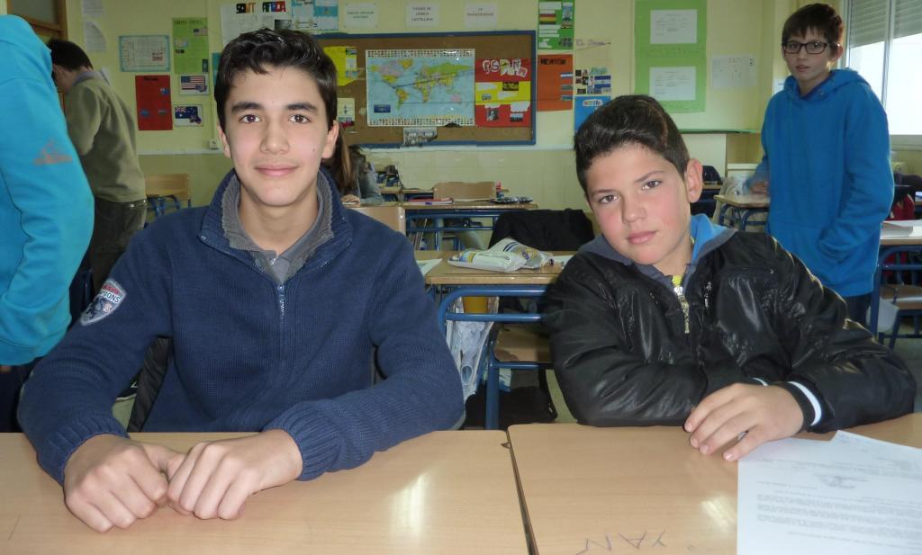 Nuestro Delegado, Daniel Jesús Sánchez y nuestro Subdelegado, Adrián Conde.