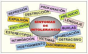 INTOLERANCIAS, por Sarah Delgado Martín.