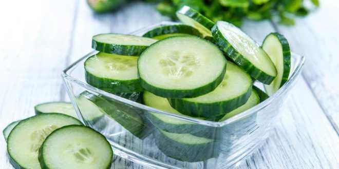 Salatalık diyet listesi
