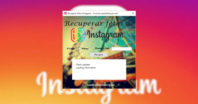 recuperar fotos de instagram