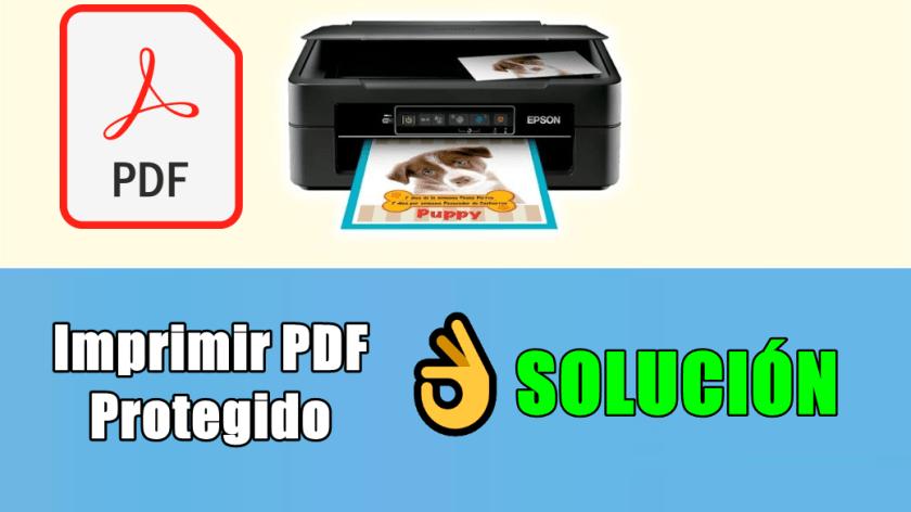 quitar contraseña a documento pdf para imprimirlo