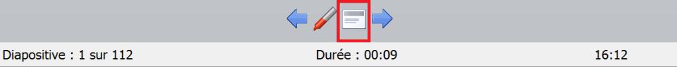 affichage personnalisé slide présentation powerpoint mode préssentateur ppt