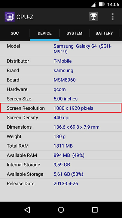L'application CPU-Z. Recovery