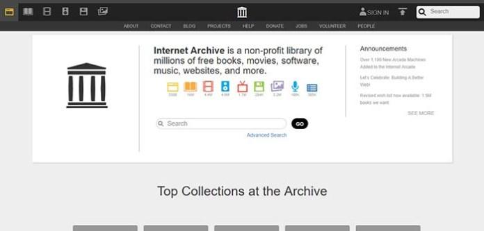 Le site Archive.org !