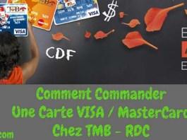 Comment Commander Une Carte ViSA / MaterCard de la TMB