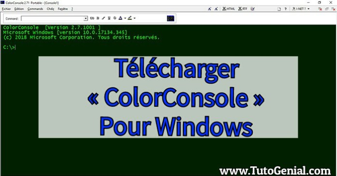 Telecharger ColorConsole Gratuit pour Windows !