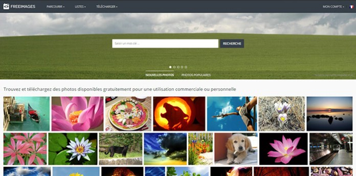 Le site FreeImages !