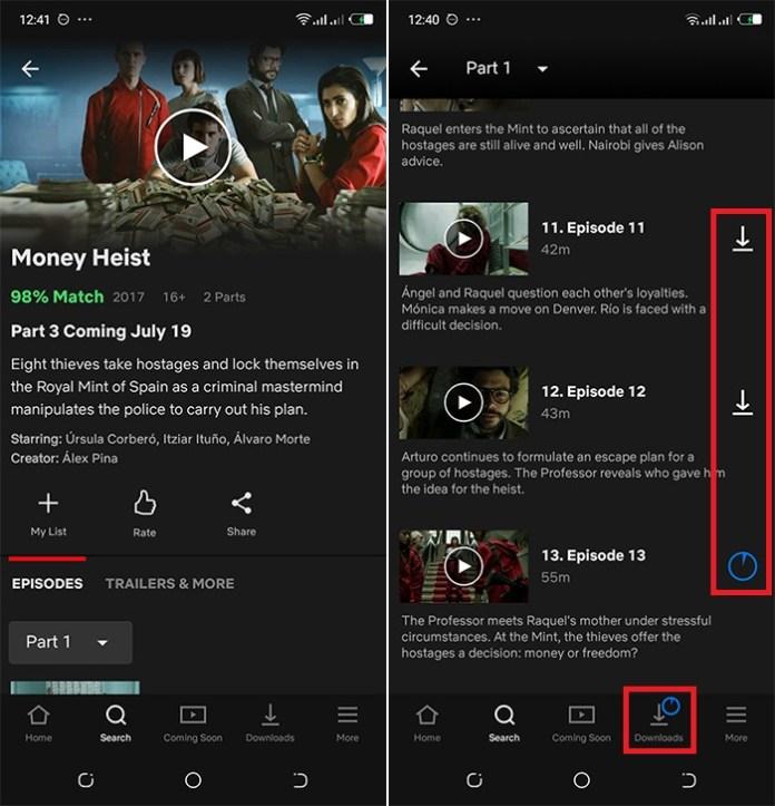 Comment Télécharger Les Vidéos Netflix Sur PC Et Android ? – FlixGrab+ Find-download-money-heist