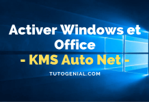 KMS Auto Net : Comment Activer Windows Et MS Office En Un Clic ?