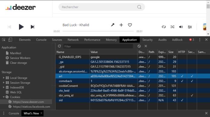 Le Developper Tools de Google Chrome !