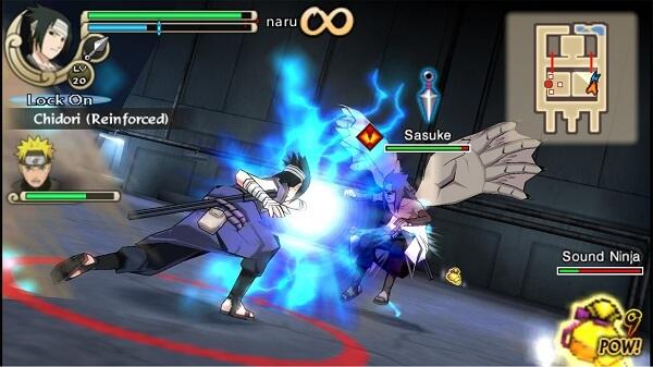 Naturo - Jeux PSP