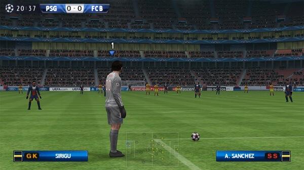 PES - Jeux PSP
