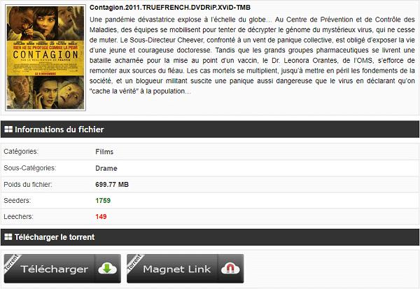Télécharger Contagion film gratuit !