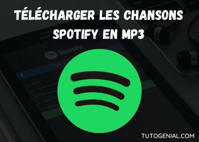 Comment Télécharger la Musique Spotify en MP3