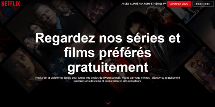 Netflix Gratuit Films Series