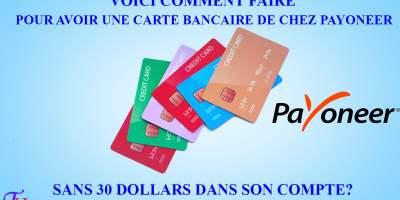 Free card Payoneer
