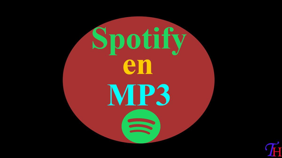 Convertir Musique Spotify en MP3