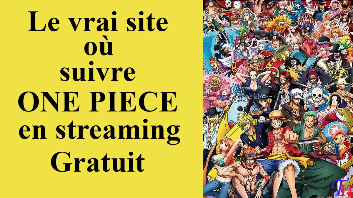 One Piece en Streaming VF: Voici le site où suivre et télécharger cet anime