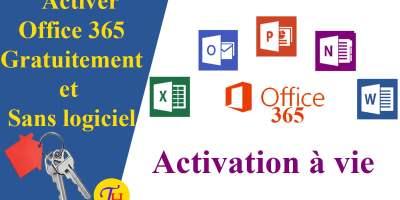 Activer office 365 gratuitement