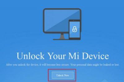 Cara Mudah Unlock Bootloader Xiaomi s2