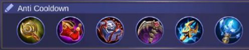 Build Harith Anti Cooldown