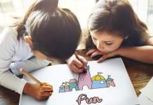 Illustrated spelling for kids