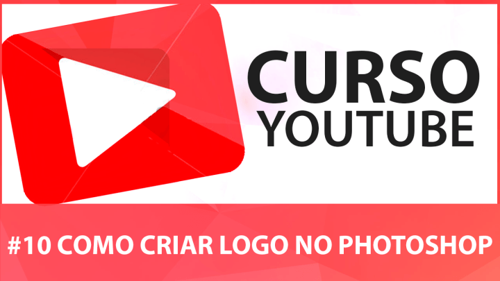 Como Criar Logo para Canal do Youtube no Photoshop