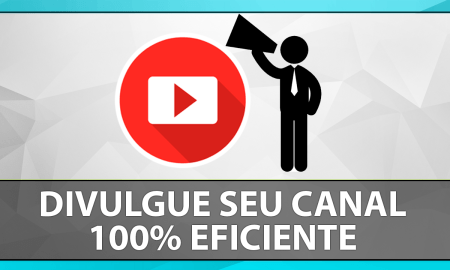 divulgar seu canal do youtube
