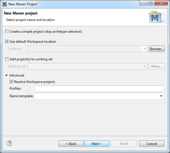 Create Maven Project Step 2