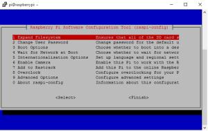 Raspberry Pi Configuration