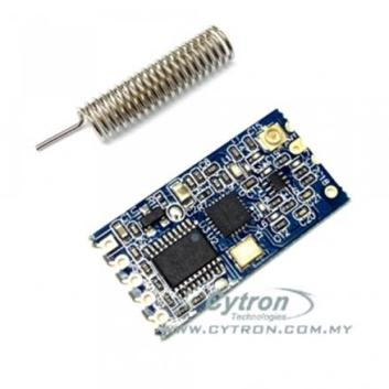 Wireless UART with Arduino and 433MHz or 434MHz module
