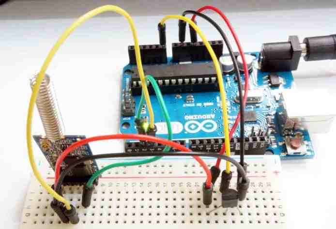 Wireless UART with Arduino and 433MHz or 434MHz module | Tutorials