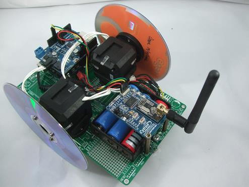 G15 Cube Servo on Mobile Robot