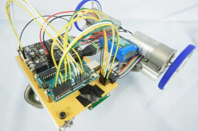 Line-Following Robot Using LSA08 in Serial Mode with PID Controller