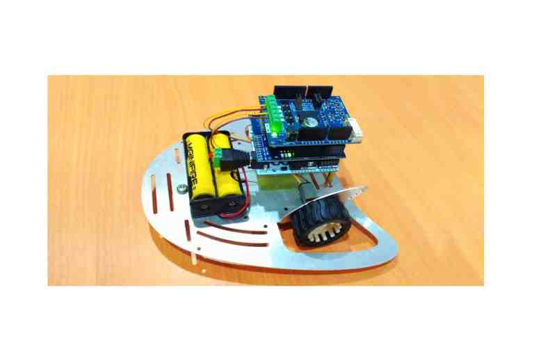 Control Mobile Robot through WiFi with ESP-WiFi Shield (Arduino + Andriod)