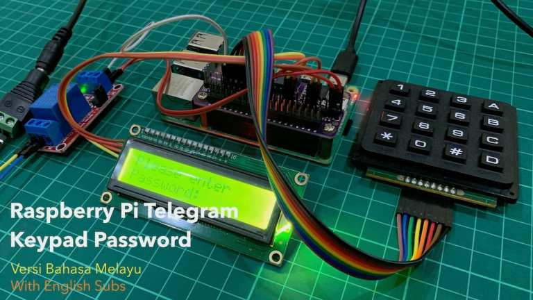 Raspberry Pi Telegram Keypad Password
