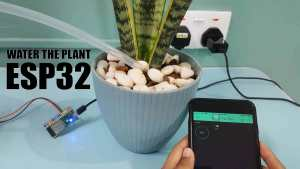 Water The Plant Using ESP32 and Blynk App.